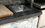 Polished Eramosa countertop