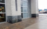 Glacier Stone panels with bevel