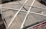 Brown top square cut flagstone