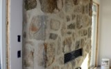 Over grouted fieldstone