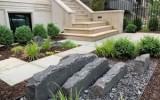 Midnight granite slabs